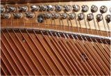 Duits Harrodser Rozehout Opgepoetst Pianino h-2L