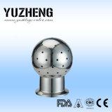 Yuzheng fijó la bola de la limpieza hecha por el material Ss304