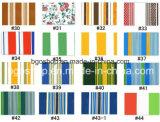 Impression de tissu de tente de bâche de protection stratifiée par parasol de PVC (500dx300d 18X12 340g)