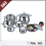 Conjunto caliente del Cookware del acero inoxidable de la venta