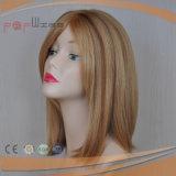 急に開きなさいよこ糸の安い人間の毛髪の通気性の女性のかつら(PPG-c-0088)を