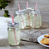 Buon Quality Mason Jar con Metal Cap/Glass Jar