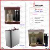 Boîte de empaquetage de taille d'impression à vin spécial fait sur commande d'étalage (6242R1)