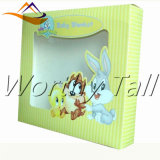 Caixa de presente quente do papel da dobra da venda