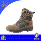 Ботинки камуфлирования кожаный воинские для людей