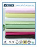 Tissu de coton pur de série de couleur d'usine