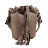 PU-Troddel-Handtaschen-Frauendrawstring-Beutel