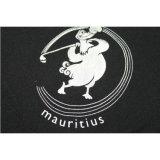 까만 승진 t-셔츠를 인쇄하는 도매 폴리에스테 스판덱스 로고