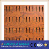 Écran antibruit de mur interne en bois de basse fréquence