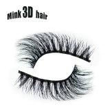 Pestañas falsas 100% del pelo suave hecho a mano 3D del pelo del visión