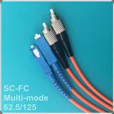 高品質FCScの光ファイバパッチ・コード
