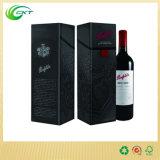 Выполненная на заказ коробка подарка бутылки вина рождества/коробка подарка Corrugated картона для бутылок вина (CKT-PB-004)