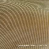 Agua y abajo tela Mezclar-Que teje tejida chaqueta Viento-Resistente del nilón del telar jacquar el 34% Polyester+ el 66% de la tela escocesa (H038)