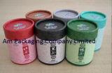 El té de lujo de la cartulina por encargo encajona el rectángulo de empaquetado del té