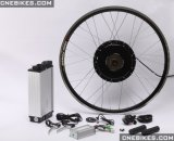 48V 750With1000W Ebike Conversion Kit mit Battery