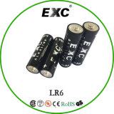 Bateria do tamanho do AA da bateria do envoltório 1.5V Um3 do Shrink de Multiforce