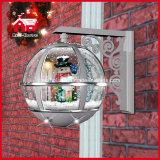 눈사람 훈장 크리스마스 선물 둥근 벽 램프