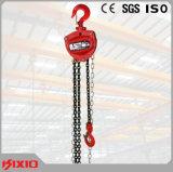 Equipamento de construção de 0.5 toneladas que iça o tipo grua Chain com gancho