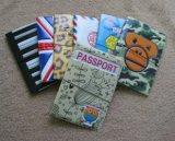 Détenteur de carte de PVC \ EVA de modèle de mode pour le passeport et la carte d'identification