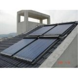 Panneaux solaires en tuyau de verre pour le chauffage de l'eau