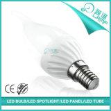 줄무늬 테일 E14 5W LED 초 빛