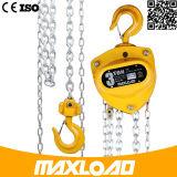 5 toneladas de cadena manual de elevación del polipasto de cadena del bloque (VD-05T)