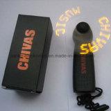 Custom Blue Message Ventilateur à jouet portable LED mini avec logo Peinted (3509)