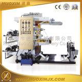 Petite machine d'impression flexographique de deux couleurs