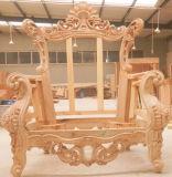 خشبيّة جلد أريكة لأنّ يعيش غرفة أثاث لازم ([د511])
