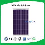 panneau solaire 265W pour le marché global