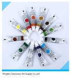12*12ml kleurt de niet Giftige Verf van de Olieverf in de Buis van het Aluminium voor Tekening