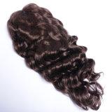 Da peruca nova da forma de Alibaba peruca cheia indiana do cabelo humano do laço de Remy/peruca dianteira para americanos africanos, cor #4 cabelo humano do laço