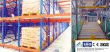 Fluir-Através do tormento para empilhar a prateleira do armazenamento do armazém