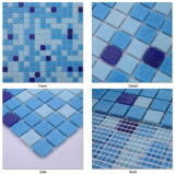 Mosaic barato Tile Sheets Glass Mosaic para Swimming Pool Tile Swimming Pool Glass Mosaic