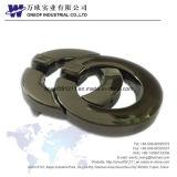 matériel en alliage de zinc de boucle de ceinture des hommes de 40mm