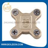 Blitzschutz-Kupferlegierung-Erdung, die quere quadratische Band-Rohrschelle erdet