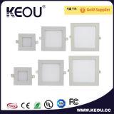 Alta luz del panel cuadrada del lumen LED SMD 2835