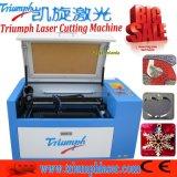 Mini preço da máquina de estaca do laser do CNC para o triunfo pequeno acrílico de madeira de China do gravador do laser do Desktop