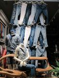 ткань 16900 джинсовой ткани джинсыов Chambray Широк-Ширины 4.5oz Stocklot голубая