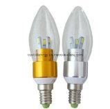 Vela do bulbo do diodo emissor de luz do Ce e dos rós E14 3W 5730 SMD