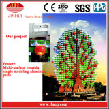 Preço de alumínio da parede de cortina do revestimento de PVDF/Powder para os edifícios (Jh158)