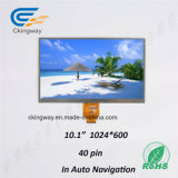 Ckingway passen Farbe der Größen-Hintergrundbeleuchtung-1024*600 in der medizinischen Bildschirmanzeige der Maschinen-TFT an