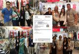 Frauen fertigen ringsum Stutzen mit Rippen versehenen Pullover-Überbrückungsdraht kundenspezifisch an