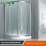 Cabine do chuveiro da porta 80*80 deslizante