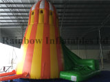 工場Direct Sale 6X5.3X7m Helter Skelter Inflatable Combo Bouncers Slide