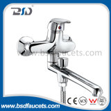 Bathroom di lusso Chrome Brass Bath Shower Faucet con Brass Diverter