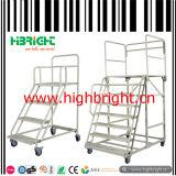 Supermarkt-Metalljobstep-Strichleiter abreißen