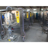 Automatischer Quetschkissen-Beutel-Einfüllstutzen-flüssige Verpackmaschine