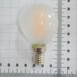 Lâmpada de filamento G45 do diodo emissor de luz 4W E14/E27/B22