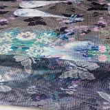 ホーム織物および衣服のためのポリエステルによって印刷される網のレースファブリック